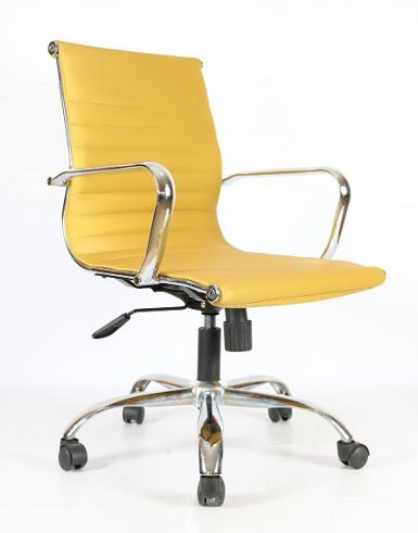 SLIM CHAIR- (PU- SILK) - (M)