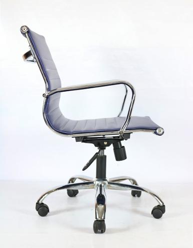 SLIM CHAIR (PU)- BLUE